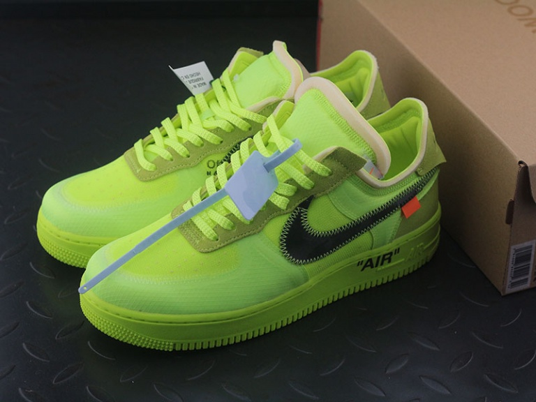 OFF-WHITE X NIKE AIR FORCE 1 LOW MCA UNIVERSITY BLUE